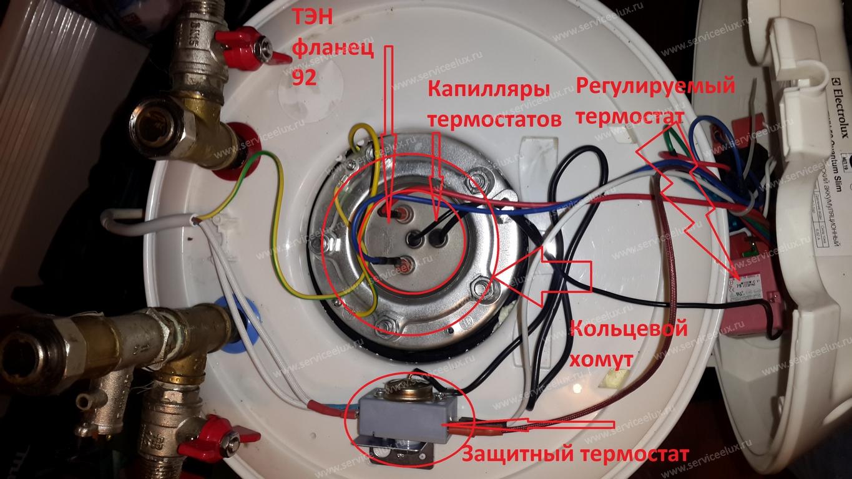 Ремонт накопительного водонагревателя электролюкс своими руками 52