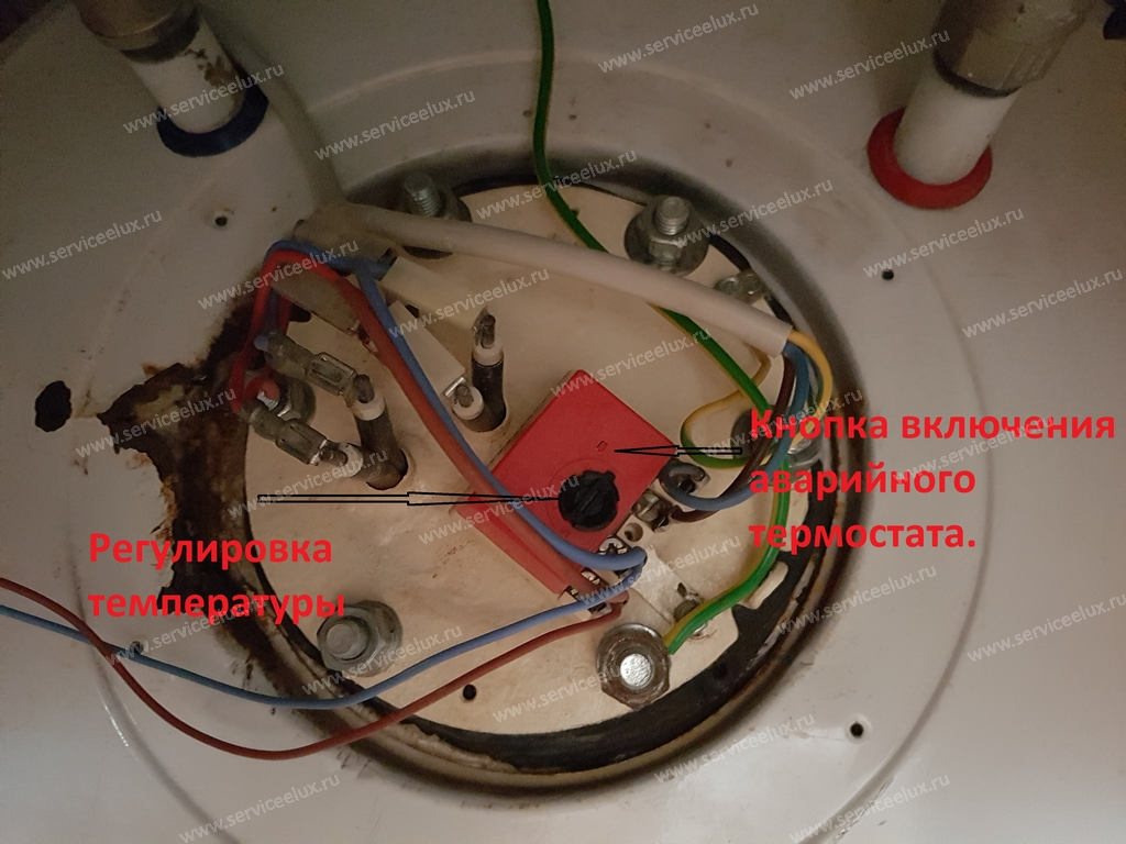 Ремонт накопительного водонагревателя электролюкс своими руками 85