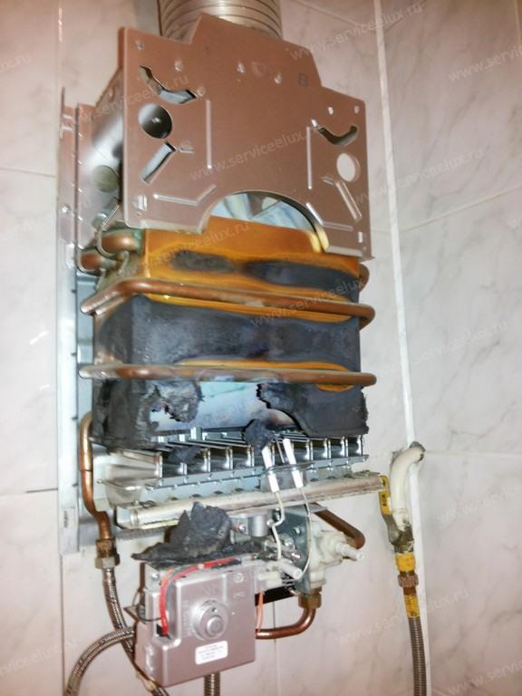Как заменить теплообменник в газовой колонке электролюкс Паяный теплообменник Funke NPL 3 Рыбинск