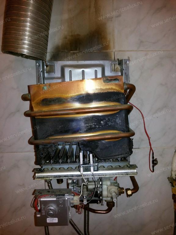 Как почистить теплообменник газовой колонки электролюкс теплообменник gealan с рессивером